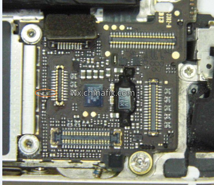 苹果手机iphone5s被摔坏无显示怎么办