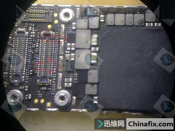 iPhone 6P手机进水不开机故障维修