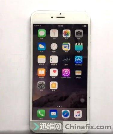 iPhone6 Plus后置摄像头无法照相维修案例