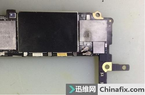 iPhone6s 打开WIFI提示温度过高故障维修