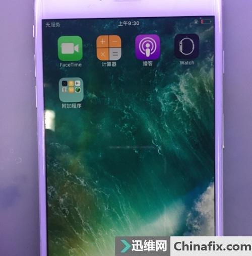 iPhone 6摔机导致无服务故障维修一例