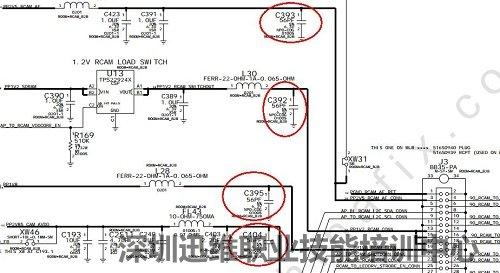 显示器 电路图5v 12v