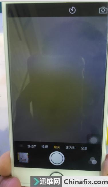 iPhone6前摄像头不能用维修案例