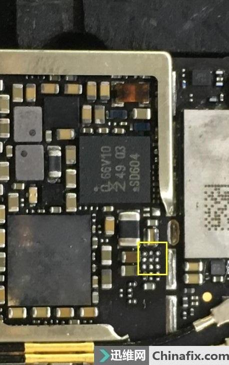 iphone6s手机指纹不能用故障维修一例