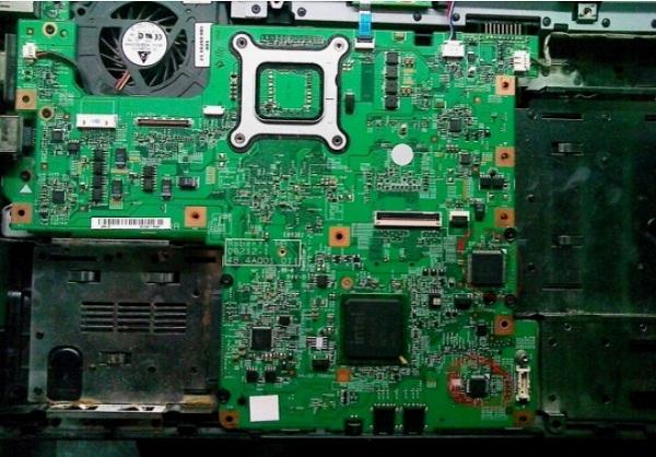 DELL PP41L笔记本开不了机故障维修案例