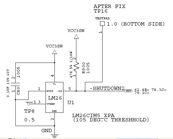 【迅维培训学员】IBM T60 笔记本简单故障维修一例