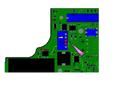 迅维学员第一次成功修复T60主板不跑码,待机无触发故障维修