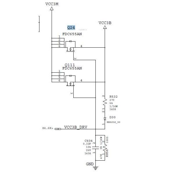 迅维学员维修IBM T60 笔记本开机掉电故障维修一例