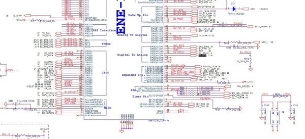 迅维学员首次成功修复仁宝LA-3401P无CPU复位故障