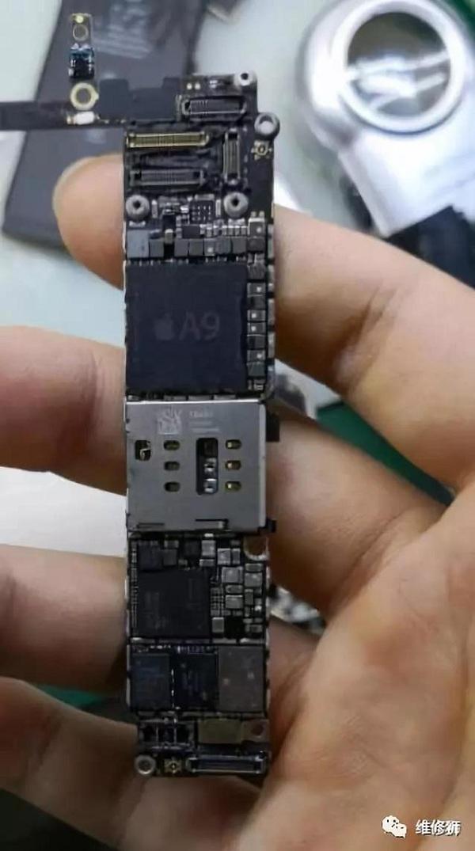 iPhone 6S 手机进水接电短路270左右不触发维修案例分享