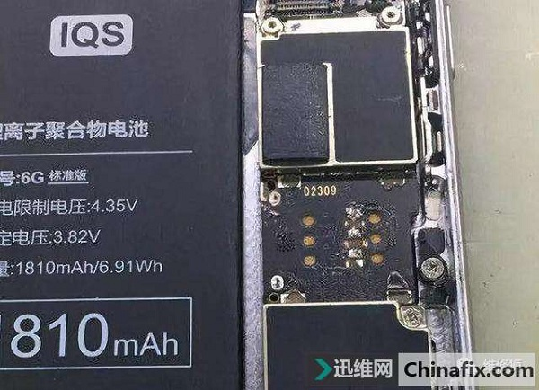 iPhone6 手机卡槽坏了,飞线修复维修案例
