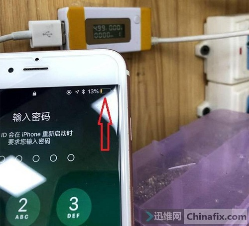 iPhone 6s Plus手机不充电故障维修