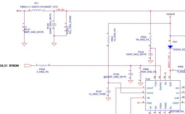 仁宝 LA-4031P笔记本主板不开机维修一例