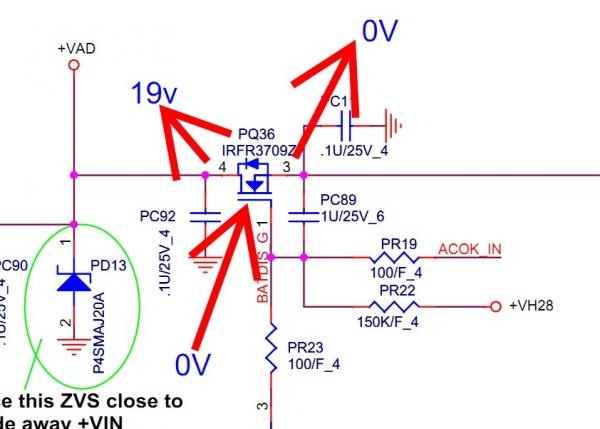 HP dm1主板大面积维修(含FP7图纸)