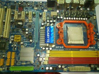GA-MA770-US无待机电压故障维修一例