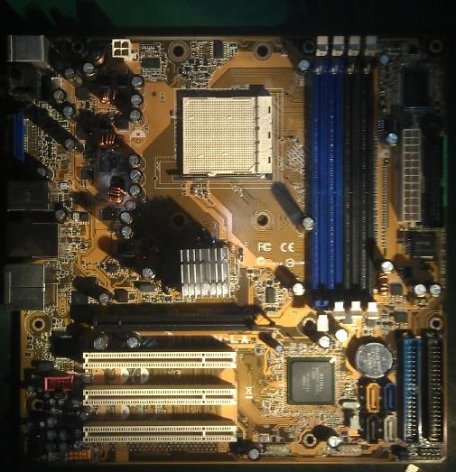华硕给HP代工的A8M2N-LA稀奇故障