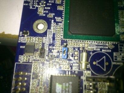 富士康845M05C不上电故障维修一例