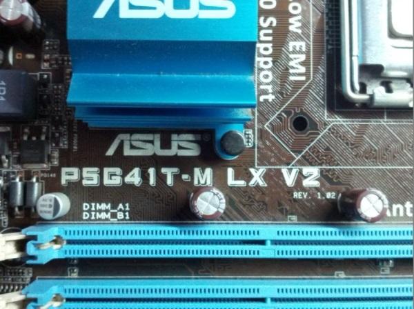 华硕P5G41T-M LX V2主板无CPU供电维修一例