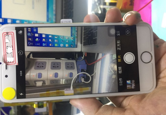 iPhone6手机前后摄像头无法使用,黑屏打不开维修 图5