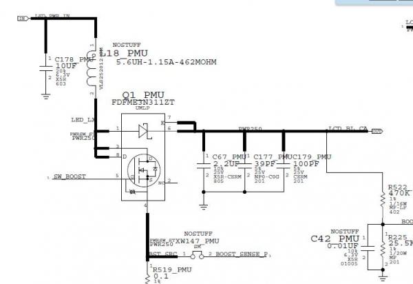 苹果cpu内部电路图
